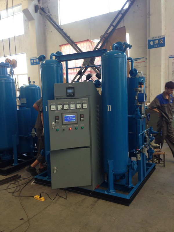 Blue White Automatically Nitrogen Gas Generator Purification System -60℃-70℃