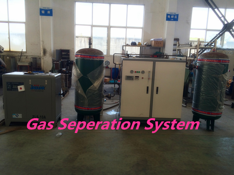 Food Industrial Nitrogen Generator Complete Filling On Site Gas Systems
