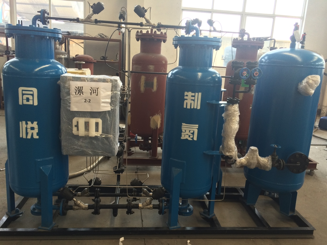 High Purity 99.99% Psa Nitrogen Plant With PLC Control System CE ISO