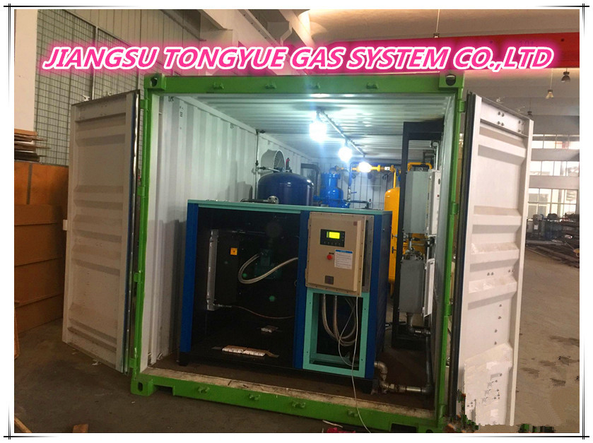 Container Type On - Site PSA Nitrogen Generator For Oil / Gas Exploration