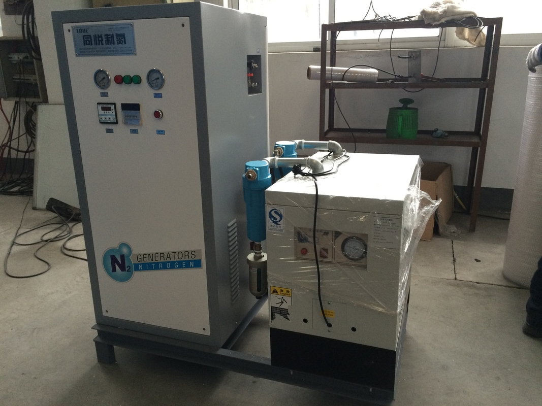 Purity 95% - 99.9% Small Nitrogen Generator Gas Generation System N2 Energy Saving