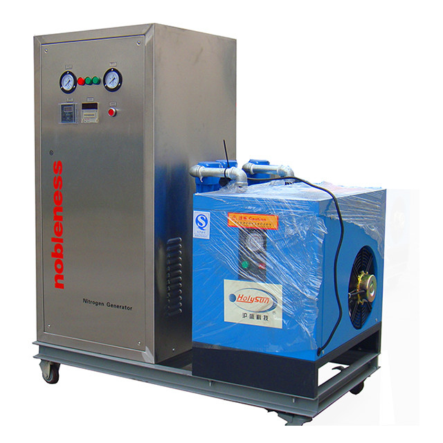 Food Grade Custom Made Mini Nitrogen Generator , Nitrogen Generation Plant With Wheels